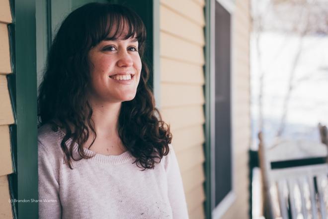 Author Ashley Crookham, photo by Brandon Shane Warren