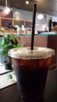 Author Ashley Crookham cold brew coffee